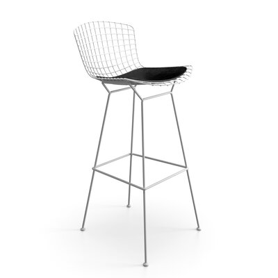 Ellie 30 Bar Stool Finish: White