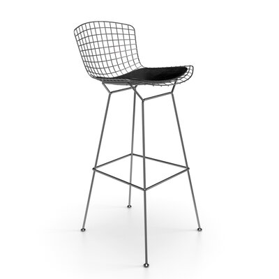 Ellie 30 Bar Stool Finish: Stainless Steel
