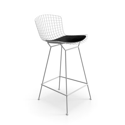 Ellie 26 Bar Stool Finish: White