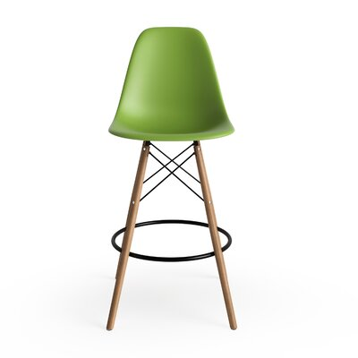 Alyssa 25.5 Bar Stool Finish: Green