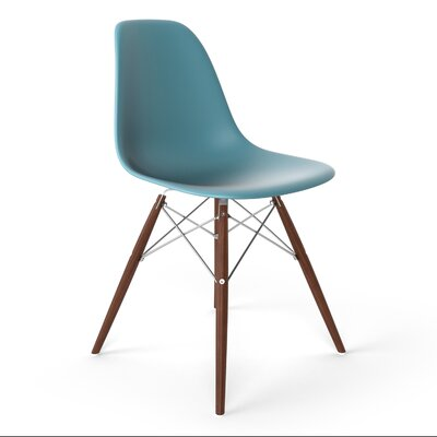 Krebs Side Chair Finish: Blue