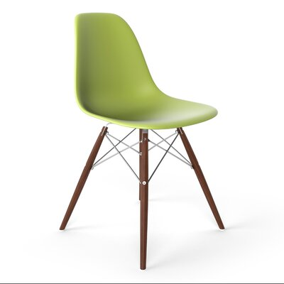 Krebs Side Chair Finish: Green