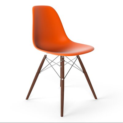 Krebs Side Chair Finish: Orange