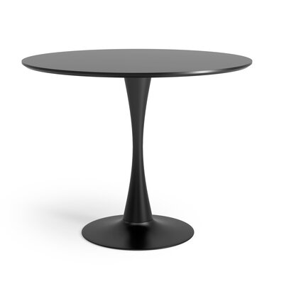 Ayer Dining Table Finish: Black