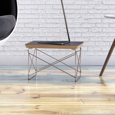 Hohl End Table Color: Black