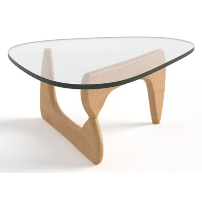 Tokyo Coffee Table Base Color: Natural Beech