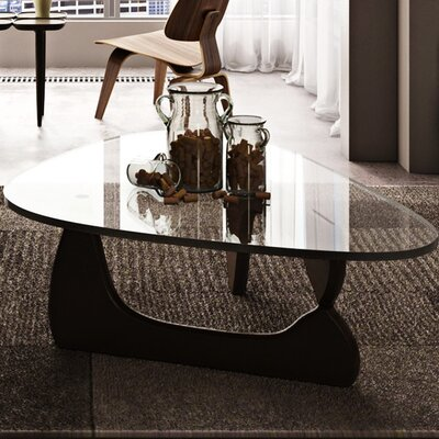 Tokyo Coffee Table Base Finish: Black