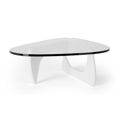 Tokyo Coffee Table Base Color: White
