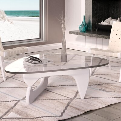 Tokyo Coffee Table Base Finish: White