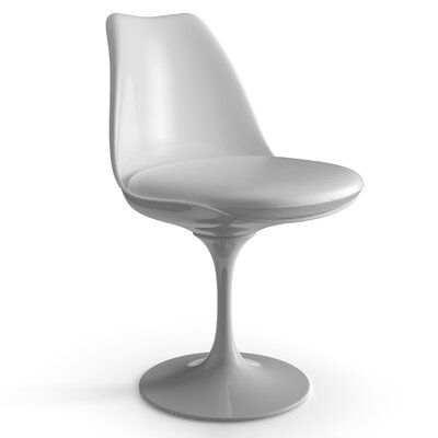 Bailey Side Chair Upholstery Color: White, Frame Color: White