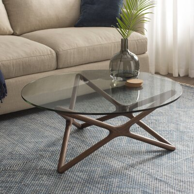 Starlight Coffee Table Base Color: Walnut