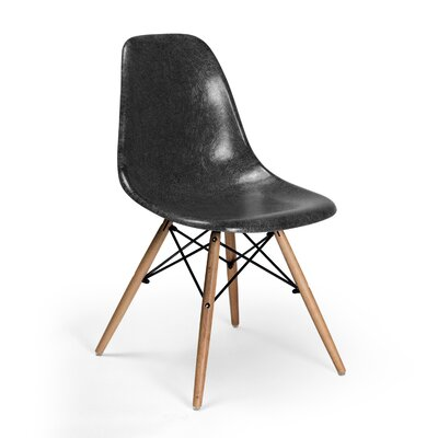 Gerardi Dining Chair Color: Black