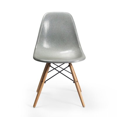 Gerardi Dining Chair Color: Warm Gray