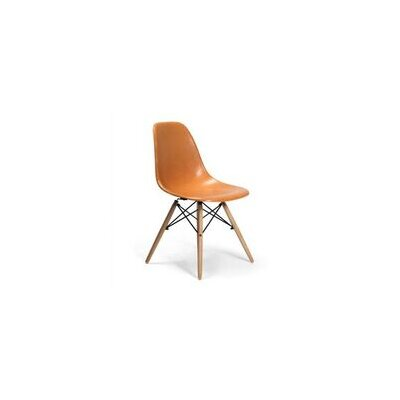 Gerardi Dining Chair Color: Orange