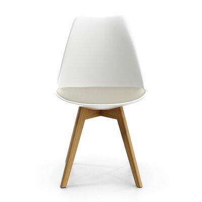 Dakota Upholstered Dining Chair Upholstery: Gray