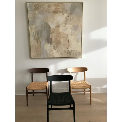 Berke Solid Wood Dining Chair Color: Natural Ash