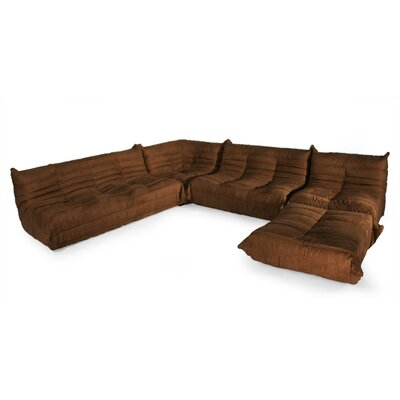 Aeon Furniture DL Sofa Modular Sectional - Color: Brown at Sears.com
