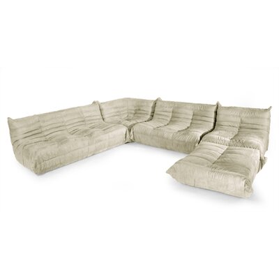 Aeon Furniture DL Sofa Modular Sectional - Color: Cream at Sears.com