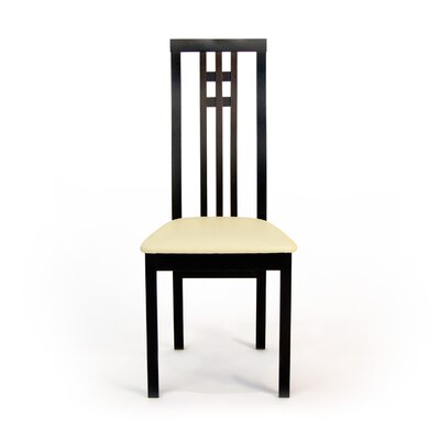 District Upholsterd Dining Chair Finish: Coffee