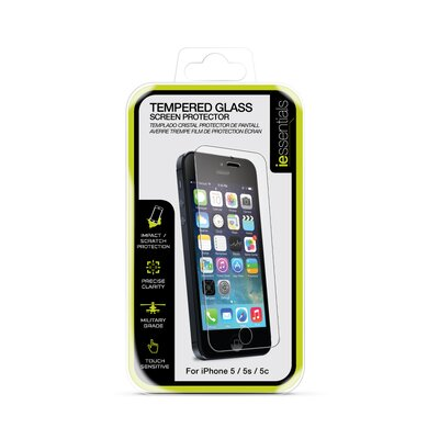 iessentials iPhone 5 Tempered Glass Screen Protection IE-IP5-SCTG