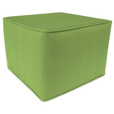 Square Pouf Ottoman Upholstery: Ginkgo