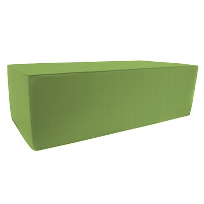 Rectangular Double Pouf Ottoman Upholstery: Ginkgo