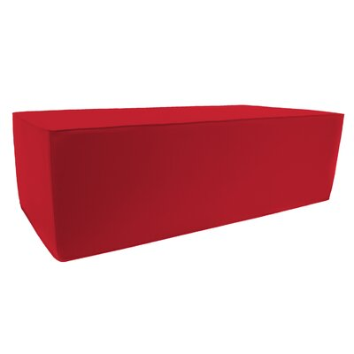 Pouf Upholstery: Jockey Red