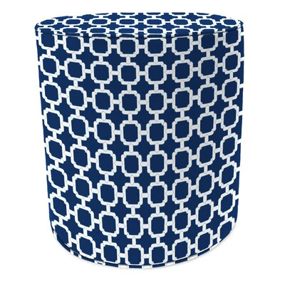 Pouf Upholstery: Hockley Navy
