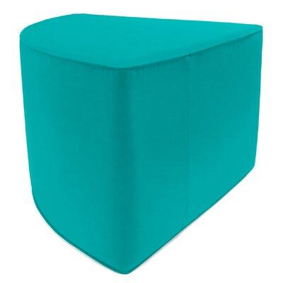 Indoor/Outdoor Corner Pouf Ottoman Upholstery: Aruba