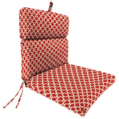 Universal Outdoor Adirondack Chair Cushion Fabric: Hockley Red