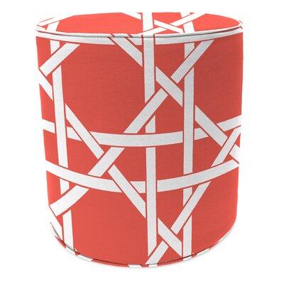 Pouf Ottoman Upholstery: Kane Coral