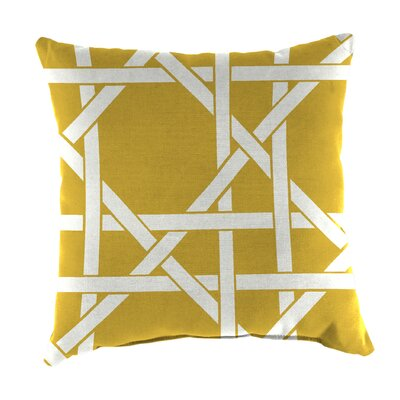 Indoor/Outdoor Throw Pillow Farbic: Kane Soliel