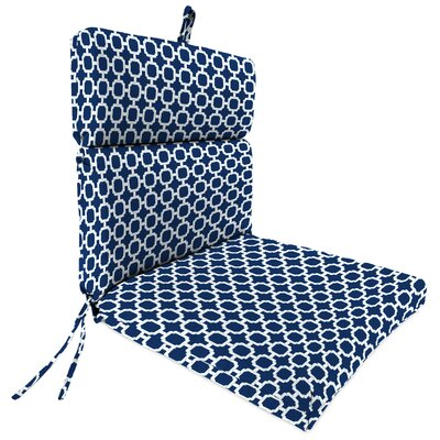 Universal Outdoor Adirondack Chair Cushion Fabric: Hockley Navy