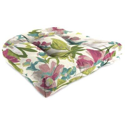 Outdoor Adirondack Chair Cushion Fabric: Elberta White