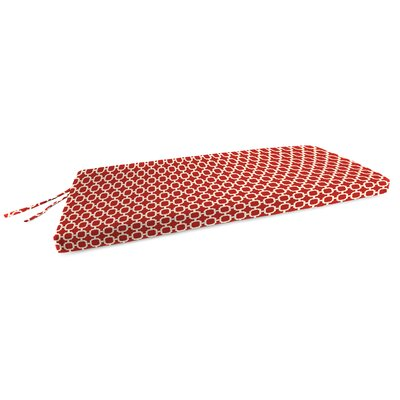 Outdoor Bench Cushion Fabric: Hockley Red