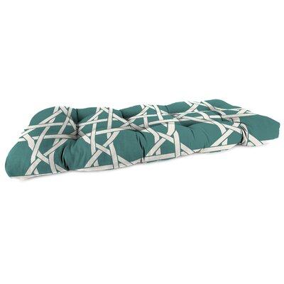 Outdoor Sofa Cushion Fabric: Kane Bluestone