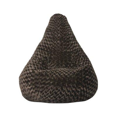 Bean Bag Lounger Upholstery: Chocolate