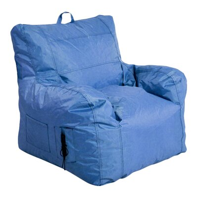 Bean Bag Lounger Upholstery: Purple