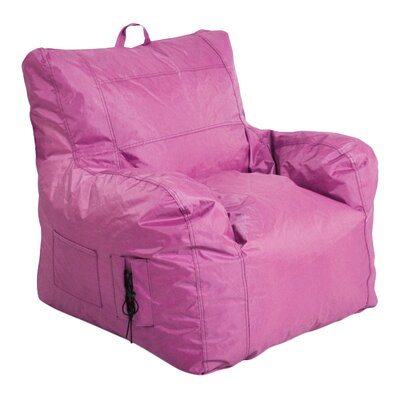 Bean Bag Lounger Upholstery: Pink