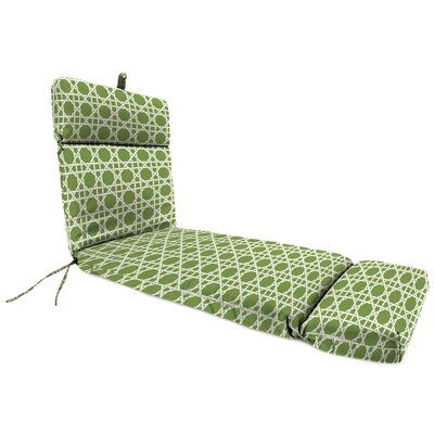 Universal Outdoor Chaise Lounge Cushion Fabric: Kane Palm