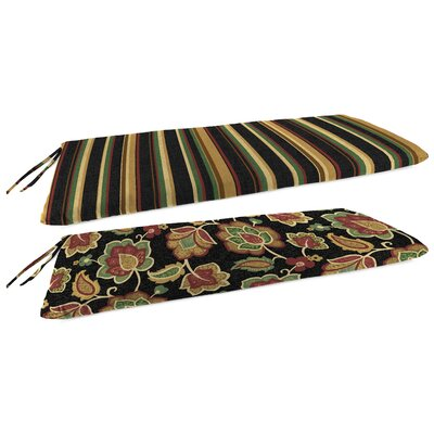 Outdoor Reversible Bench Cushion