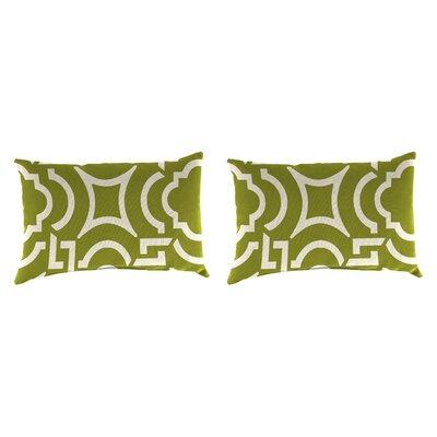 Outdoor Lumbar Pillow Farbic: Carmody Kiwi