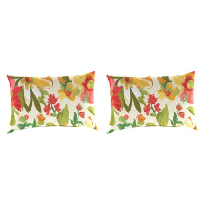Outdoor Lumbar Pillow Farbic: Elberta Sunbright