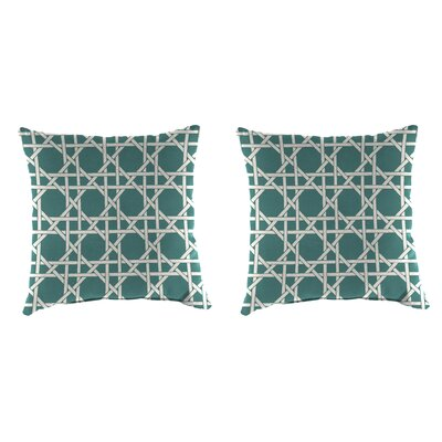 Indoor/Outdoor Throw Pillow Farbic: Kane Bluestone