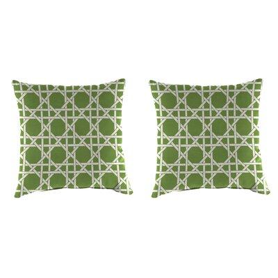 Indoor/Outdoor Throw Pillow Farbic: Kane Palm