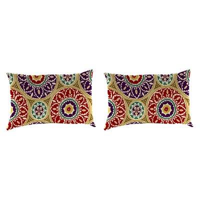 Outdoor Lumbar Pillow Farbic: Tabea Jewel
