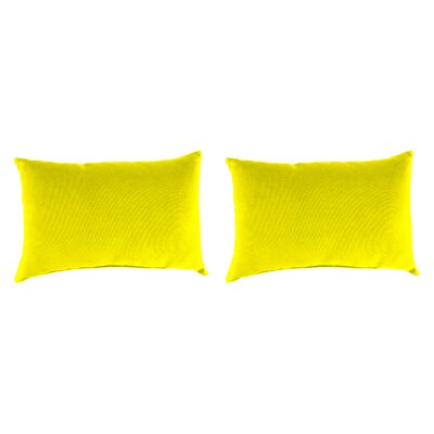 Outdoor Lumbar Pillow Farbic: Fresco Yellow