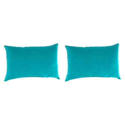 Outdoor Lumbar Pillow Farbic: Fresco Atlantis