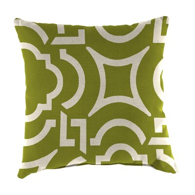 Indoor/Outdoor Throw Pillow Farbic: Carmody Kiwi