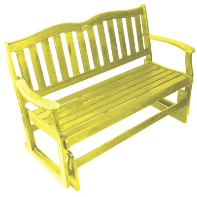 Jordan Manufacturing Wood Garden Glider - Finish: Yellow at Sears.com